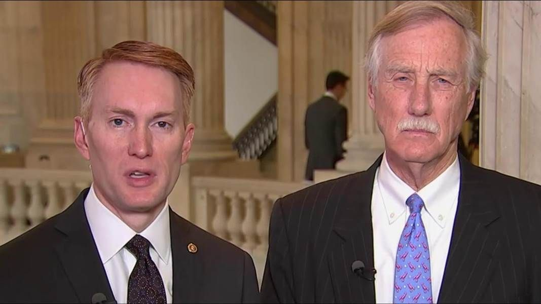 Sens. James Lankford and Angus King, both of the Select Intelligence Committee, discuss Russia's interference on the election and the Senate investigation into Russia.
