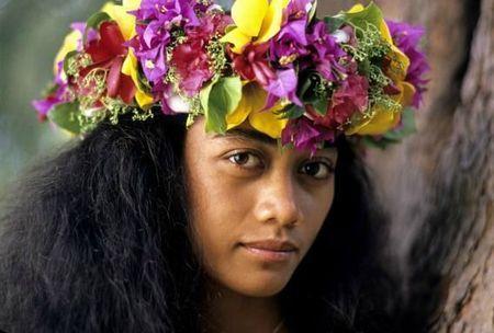Quand Les Fleurs Couronnent Partage De Scrap Polynesian Wear