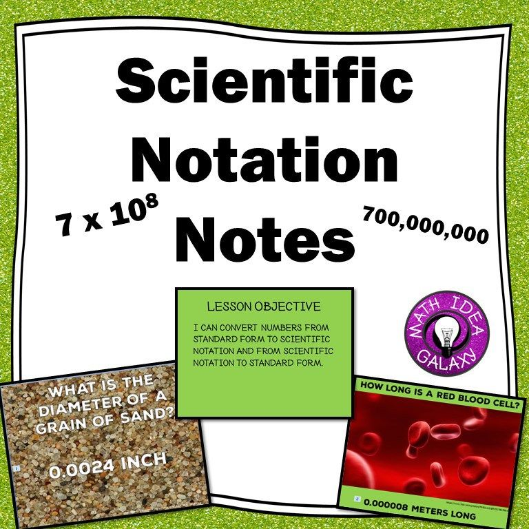 Teaching Scientific Notation 4 Questions To Help Students