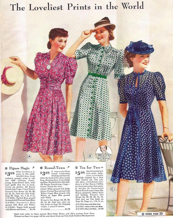 1940 Sears Catalog