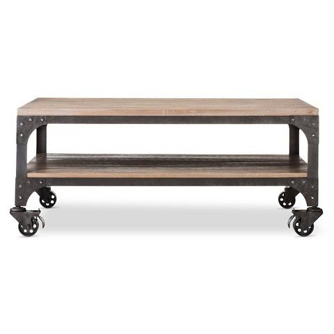 Franklin Coffee Table The Industrial Shop Target - Target franklin coffee table