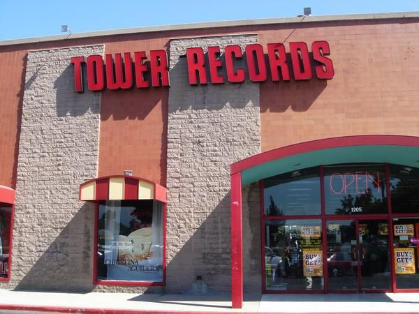 Tower Records At The West Covina Fashion Plaza