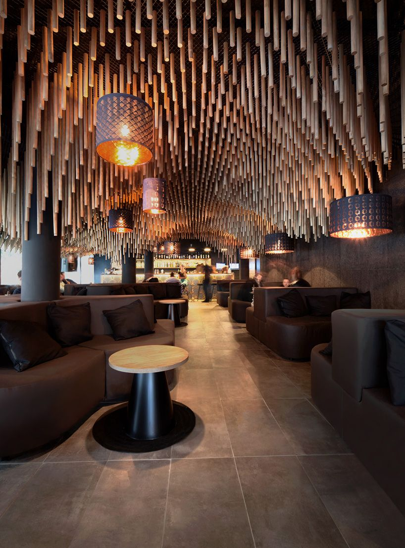 Delightful Parametric And Oriental Meet Together In A Hookah Bar In Sofia By Kman  Studio Images