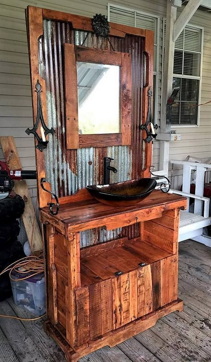 Awesome Diy Ideas To Refurbish Wood Pallet Wooden Pallet