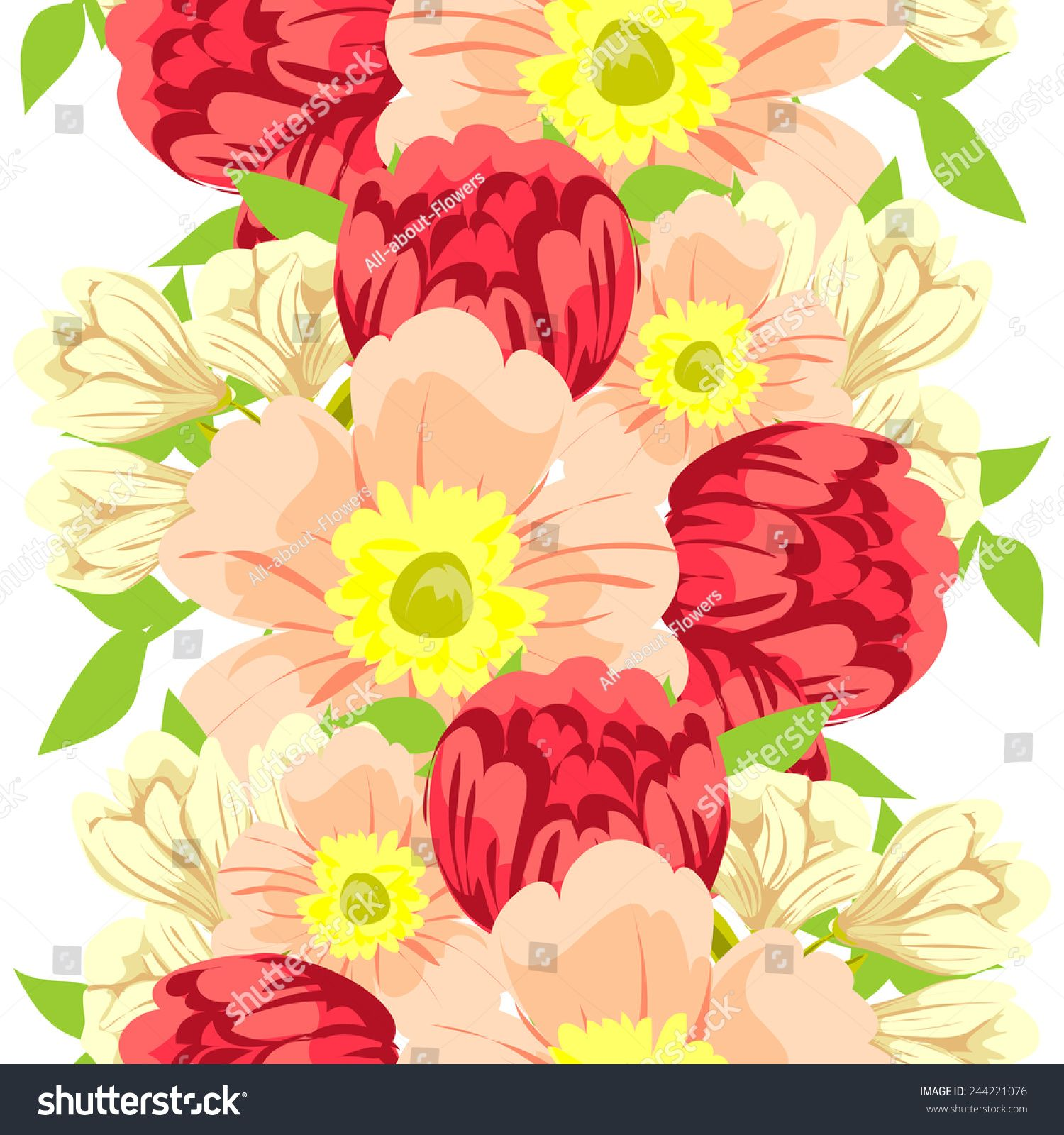 Abstract Elegance Seamless pattern with floral background #Sponsored , #ad, #Seamless#Elegance#Abstract#background