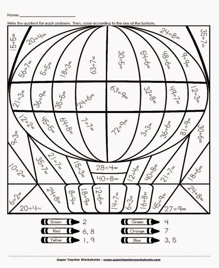 printable coloring pages for 7th graders th grade math