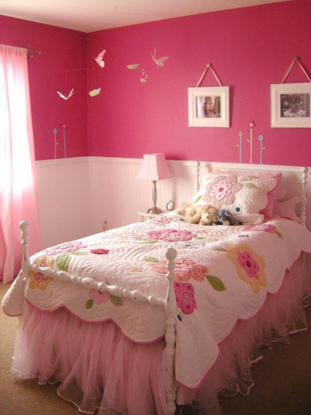21 Preciosas Habitaciones para Niñas de color Rosa | Girls bedroom ...