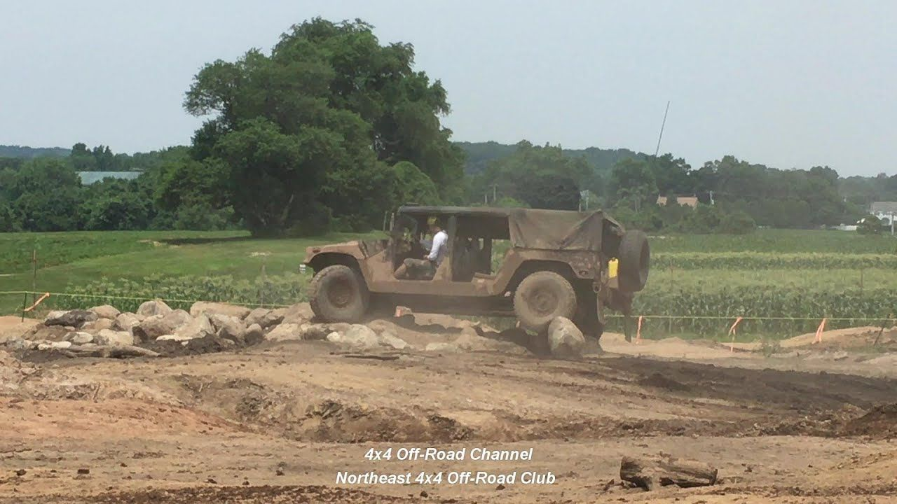 Army Humvee Surplus Running A Jeep Obstacle Course Awesome Off