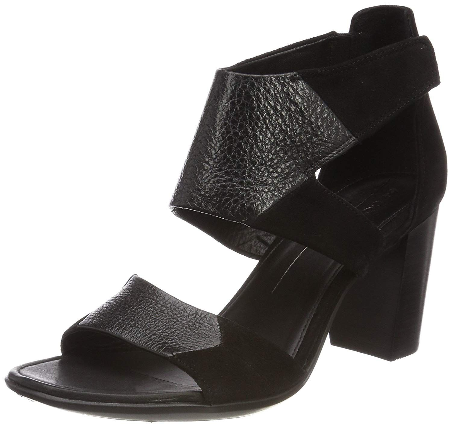 f1d2170f30 ECCO Women's Women's Shape 65 Block Ankle Strap Heeled Sandal * Hope that  you like our picture. (This is our affiliate link) #womensheeledsandals
