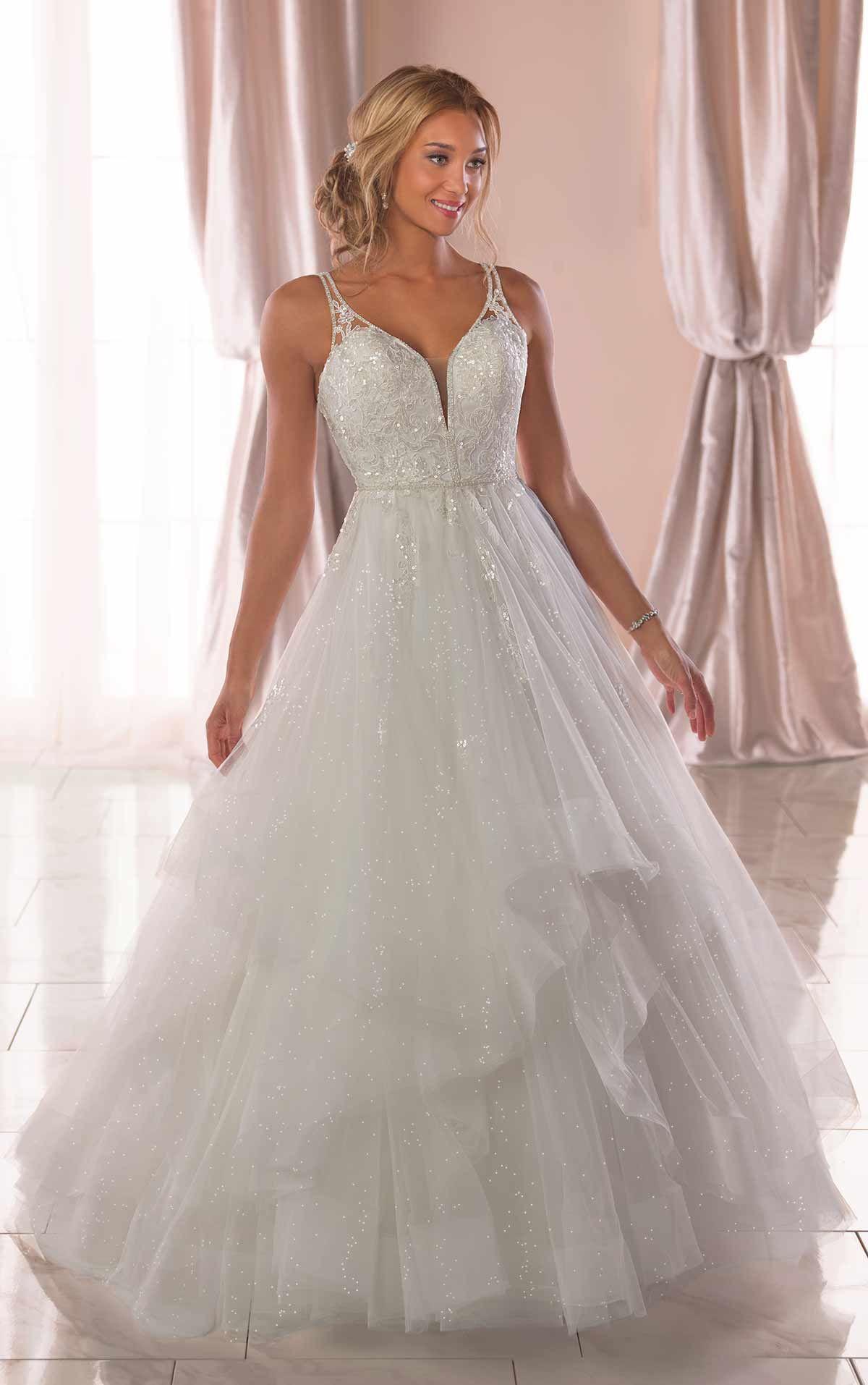 Lace Bodice Shimmer Tulle Wedding Dress Lace Sparkle Wedding Dress Bride Elegancebysarah Sparkle Wedding Dress Bodice Wedding Dress Glitter Wedding Dress [ 1914 x 1200 Pixel ]