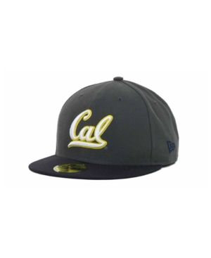 best cheap 98984 bdeff NEW ERA CALIFORNIA GOLDEN BEARS 2-TONE GRAPHITE AND TEAM COLOR 59FIFTY CAP.   newera