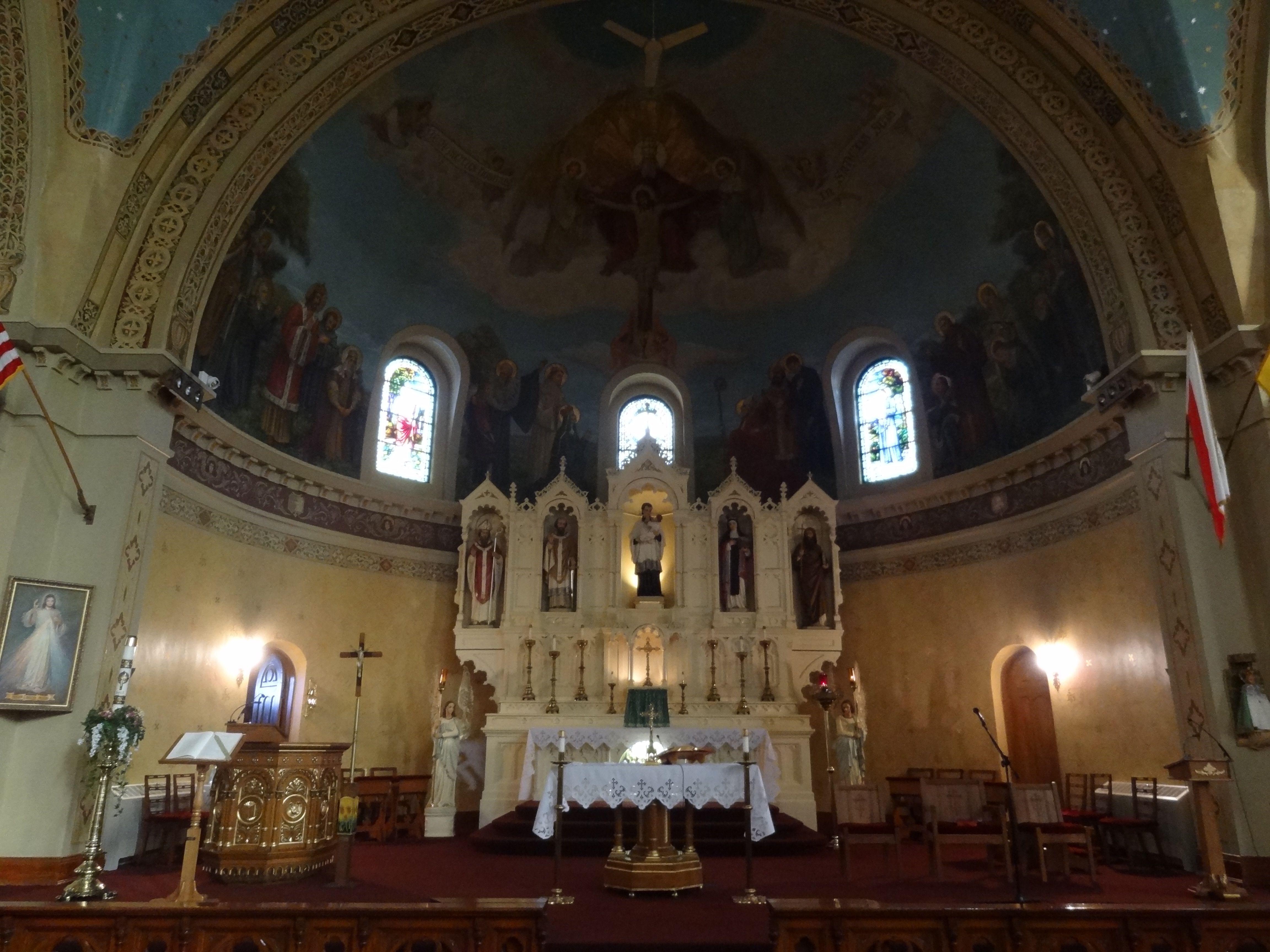 Wonderful Catholic: St. Stanislaus Kostka Church; Rochester, NY   Altar