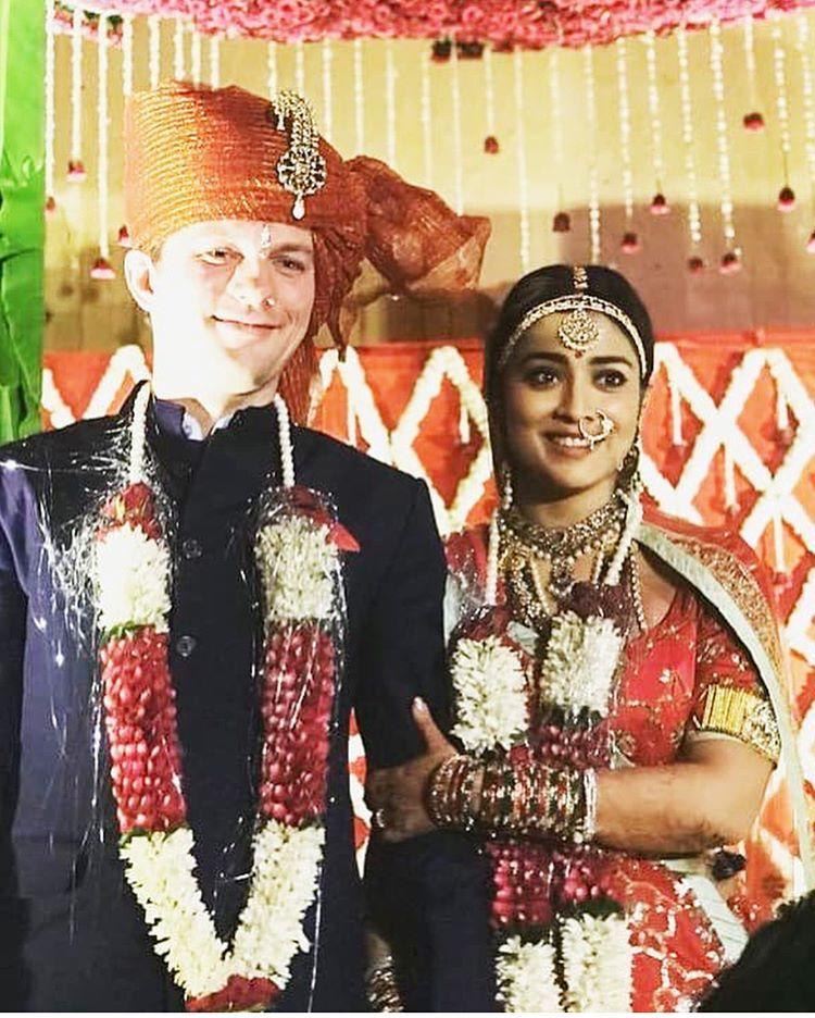 Drishyam Actor Shriya Saran Gets Married To Her Long Term
