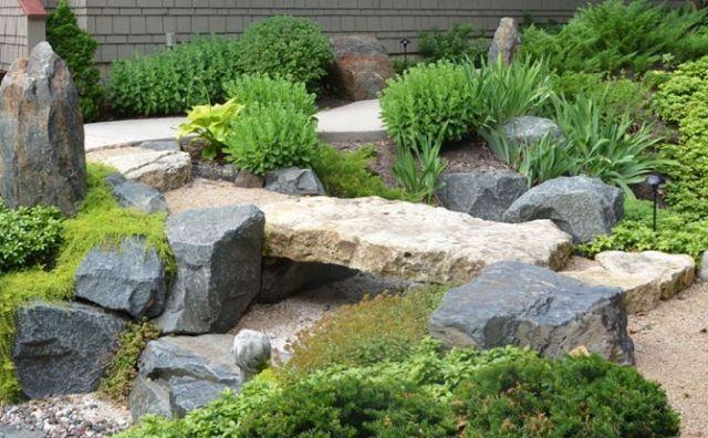 Japangarten gestalten \u2013 wichtig zu wissen über den Trockengarten-Bau - vorgarten gestalten asiatisch