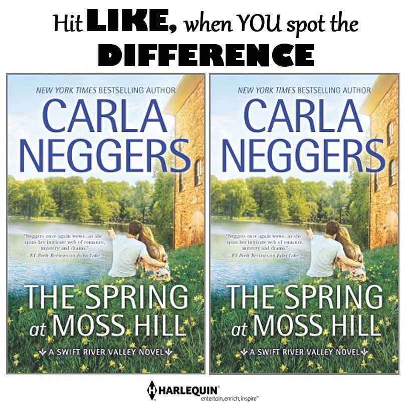 Hit that LIKE when you see it! :) THE SPRING AT MOSS HILL by Carla Neggers