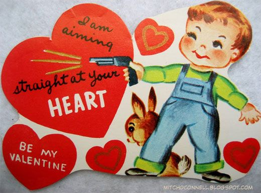 11 Crazy Old Valentineu0027s Day Cards That Would Never Exist Today - valentines day cards