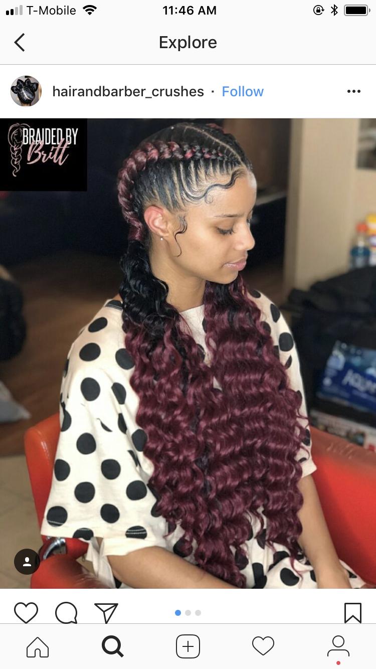 Pin by itsdina on black girl slay pinterest hair styles braids