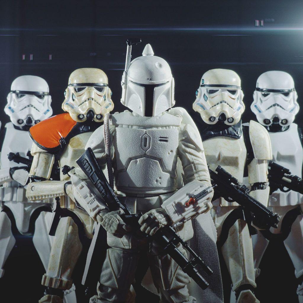 Prototype Boba Fett On Hoth Star Wars Art Star Wars Toys Star