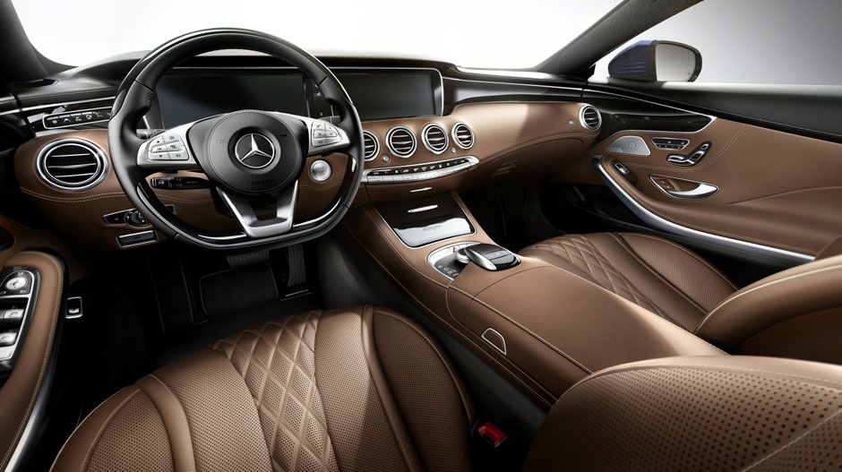 2015 S Class Coupe Front Interior Shot A Lot Like The Sedan I