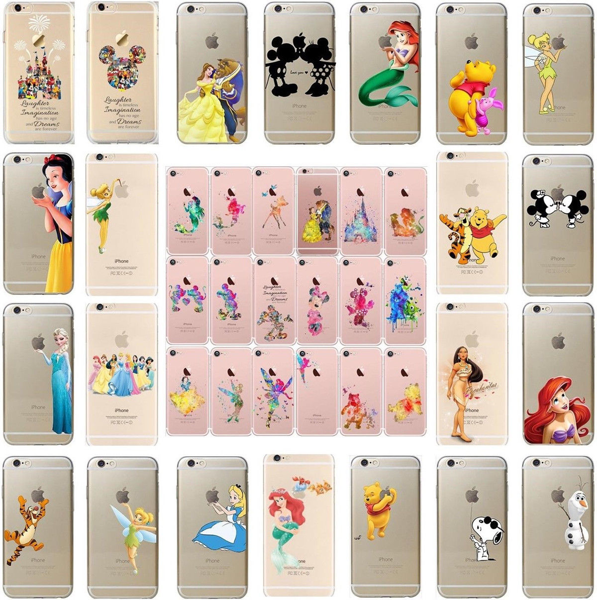 iphone xr case square Disney character