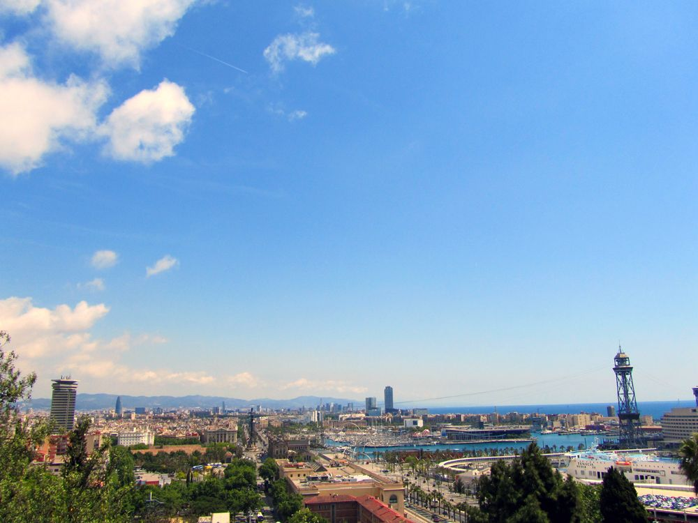 Barcelone • Vue sur la ville • mai 2014