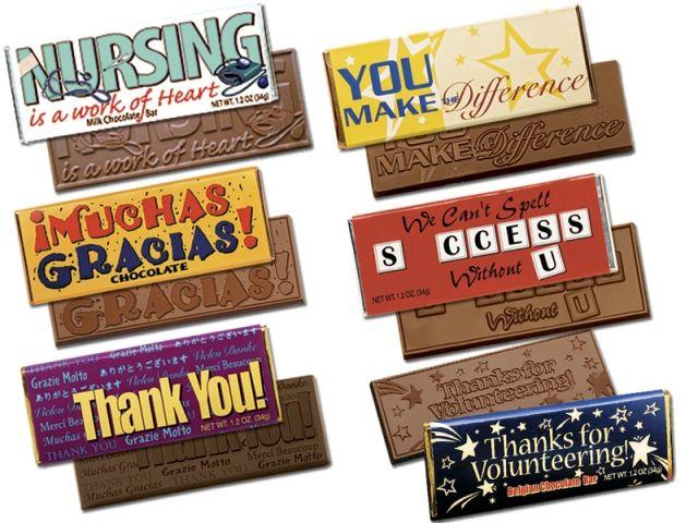 Candy bar appreciation sayings employee appreciati