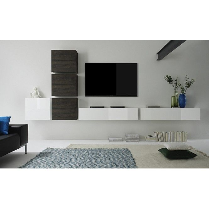 Moderne Entertainment Kasten Design Tv Wandmeubel Lemvig