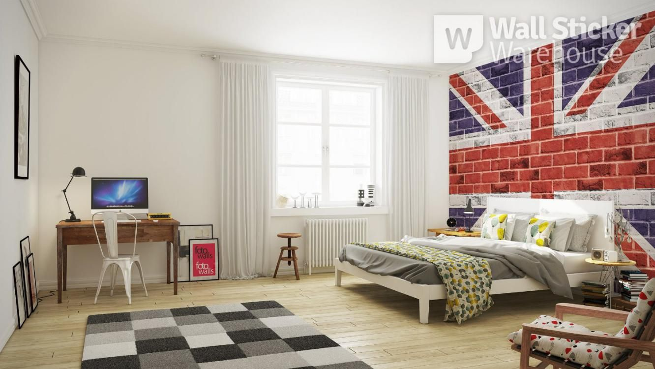 Create Wonderful Interior Design only with 3 Alluring Wall Murals ...