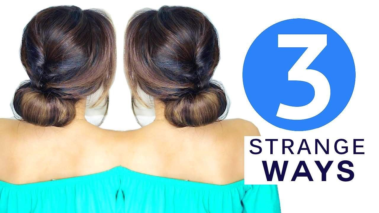 ☆ 3 strange ways to do cute hairstyles | #hacks | women's world
