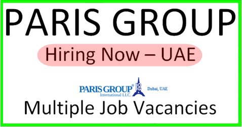 Paris Group Hiring Now Finance Jobs Company Job Accounting Jobs