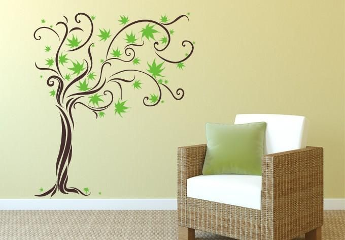 Free shipping wall sticker Unique Dream Tree Flower Removable Wall ...