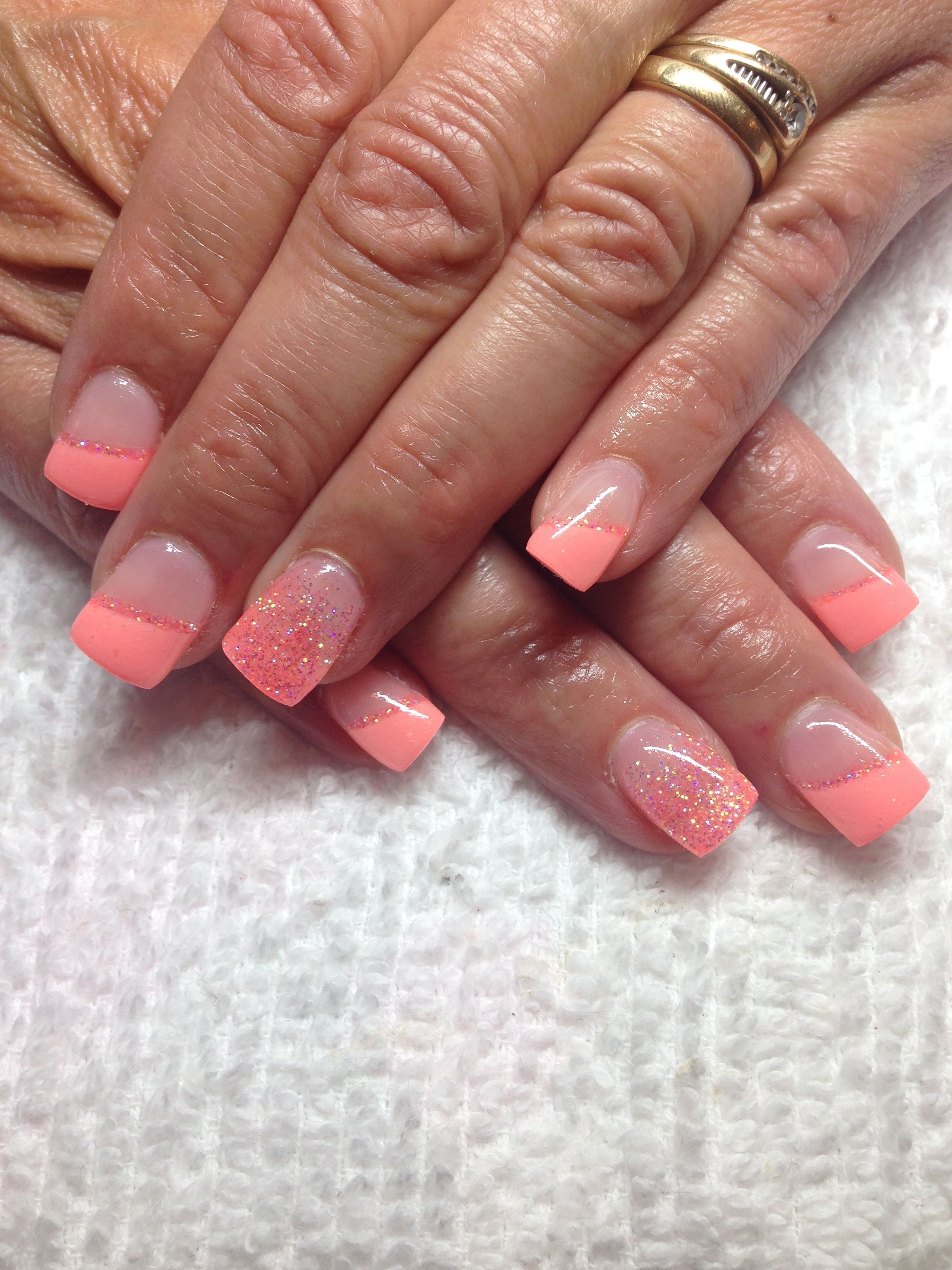 Fuzion Gel Nails By Lexis Cool Melon And Sweet Treat