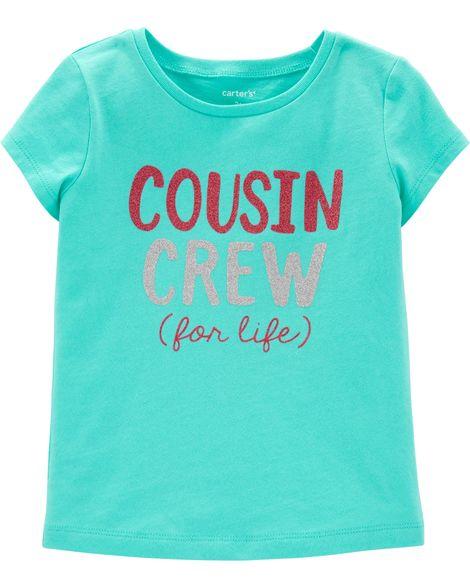 a8bc7d35e88 Cousin Crew For Life Jersey Tee Toddler Girl Shorts