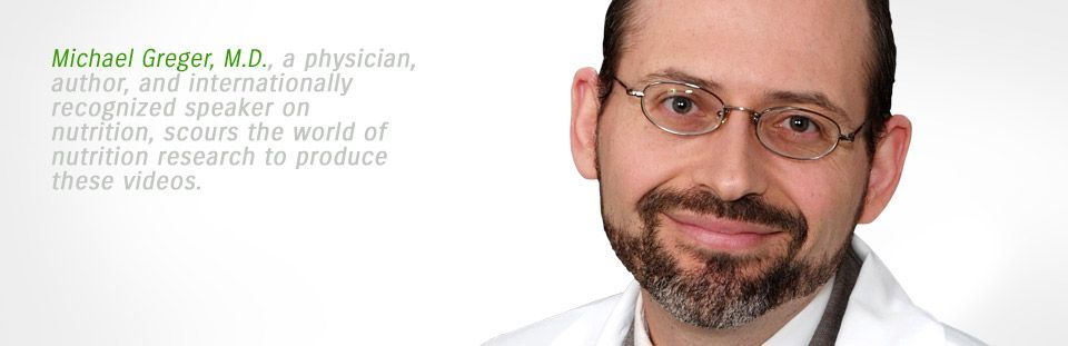 ... Every year, Dr. Michael Greger reads EVERY article on nutrition in English... yes even the ridiculous ones. So every day he posts a few videos about his discoveries from reading!