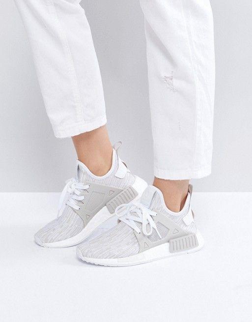 adidas originali beige nmd rt primeknit scarpe moda (amore