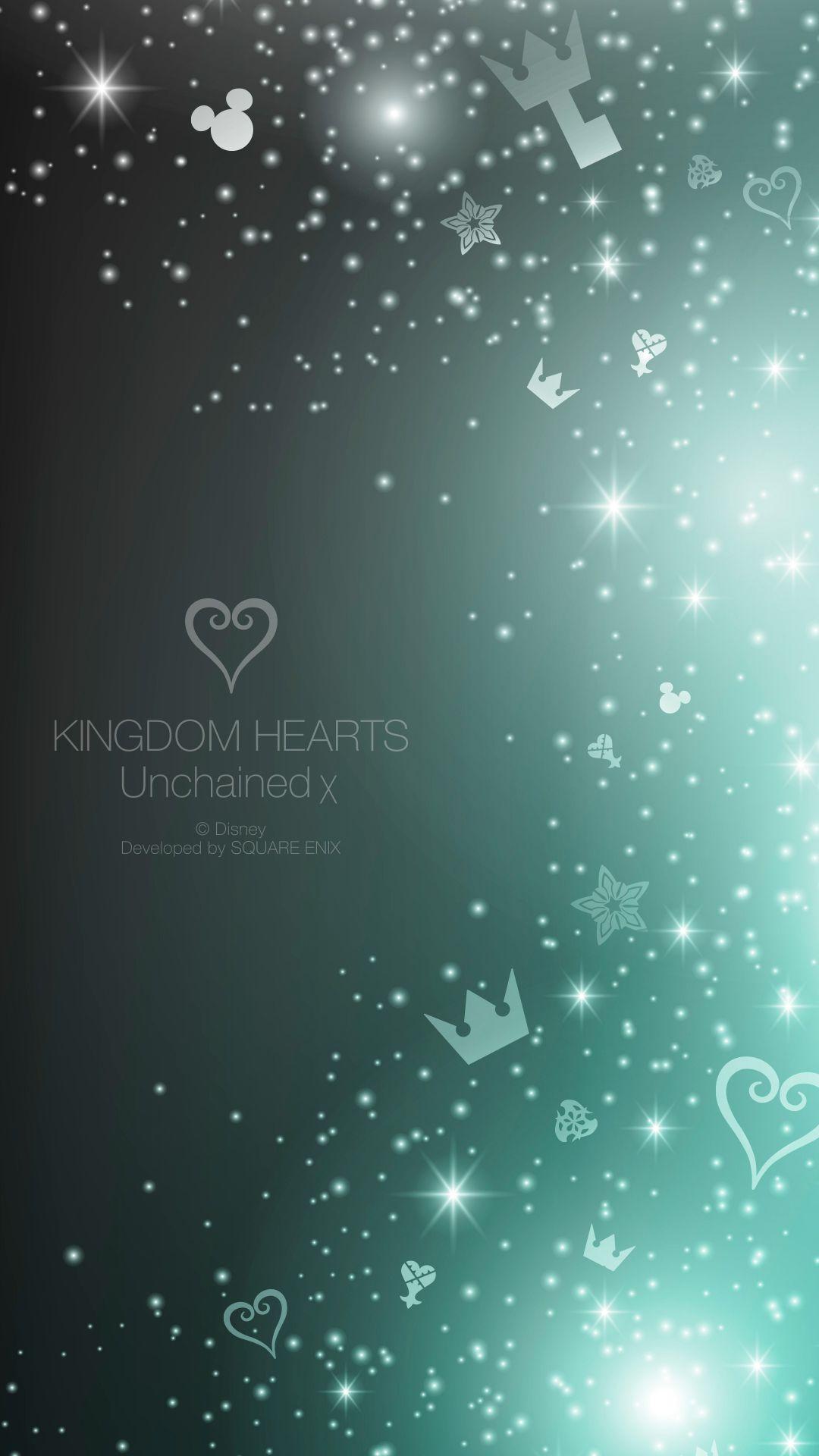 キングダムハーツ Unchained X ゲームのiphone壁紙 Iphone8 スマホ