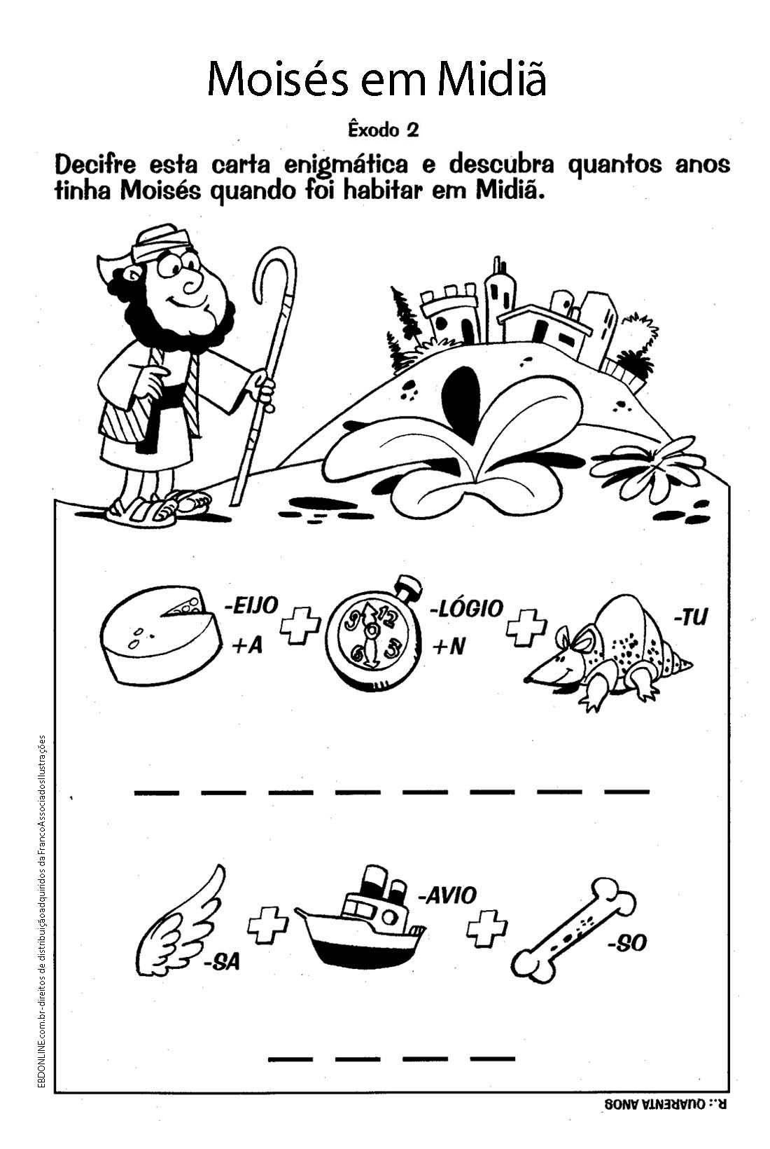 Preferência brincadeiras bíblicas infantil - Pesquisa Google | Atividades  JM41