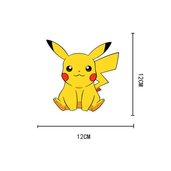 Pokemon wall stickers for kids rooms home decorations cartoon pikachu wall decal