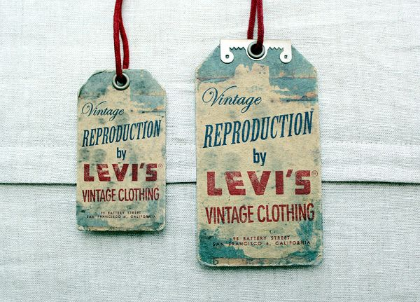 The labelling and packaging for a new premium line launched by Levi's XX Amsterdam.