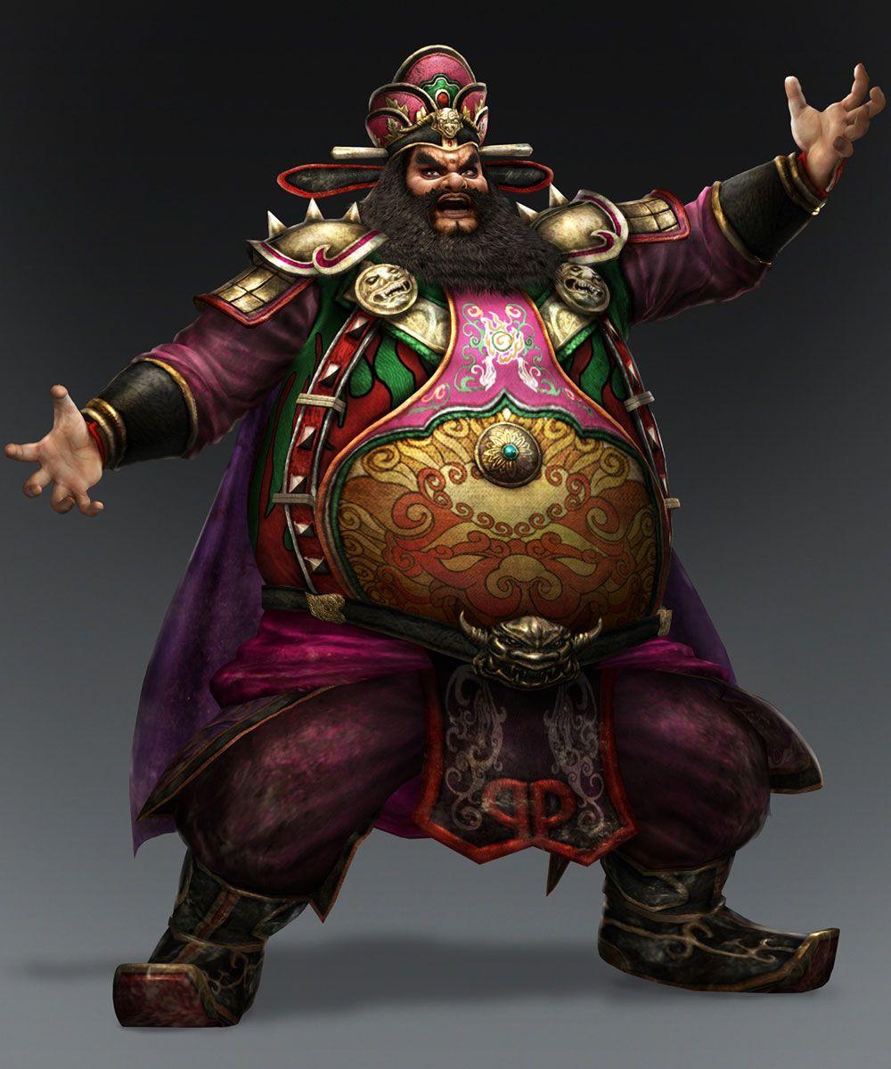 Warriors All Stars Characters: Dynasty Warriors 8 Art