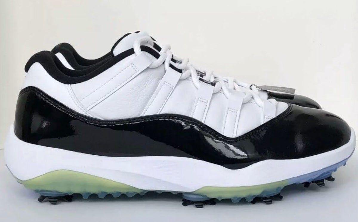 Nike Air Jordan XI 11 Low Concord Golf