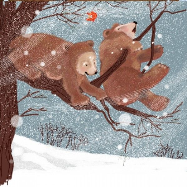 Half Past Winter Illustration
