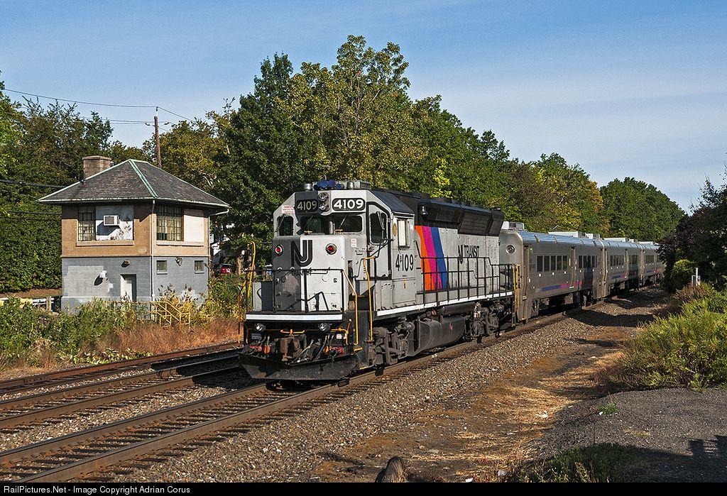 RailPictures Net Photo: NJT 4109 NJ Transit GP40PH-2 at