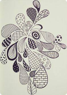 doodle patterns | Zen Doodle Patterns | best stuff