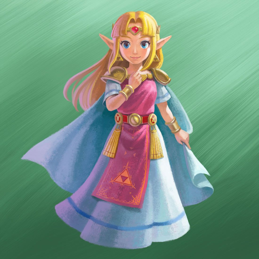 The Legend Of Zelda A Link Between Worlds Princess Zelda