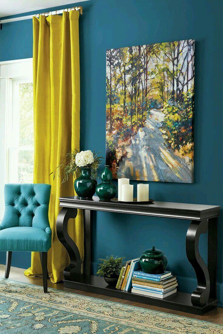 teal wall color room ideas home decor decor living room paint rh pinterest com