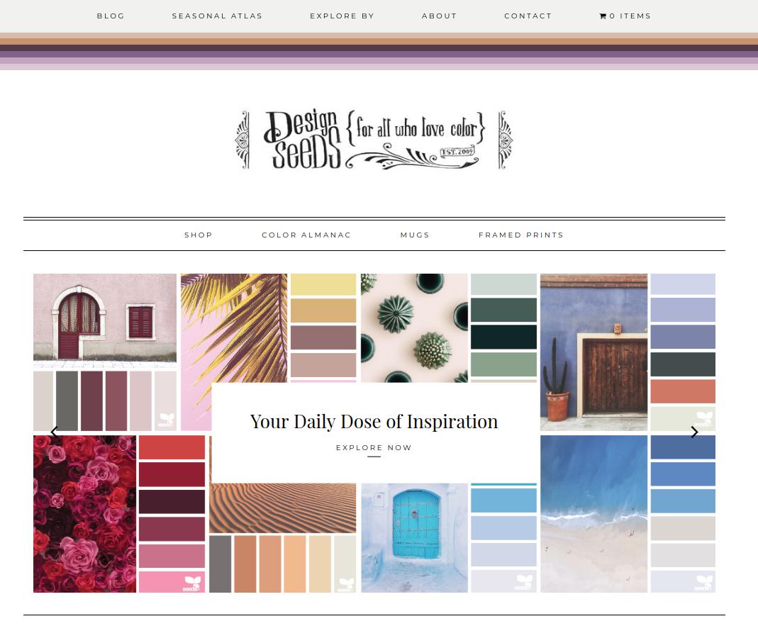 home page color pinterest design seeds inspiration and create rh pinterest com