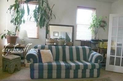 DIY Show Off Custom sofa Sofa slipcovers and Beach cottage style