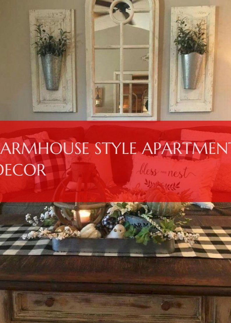 farmhouse style apartment decor