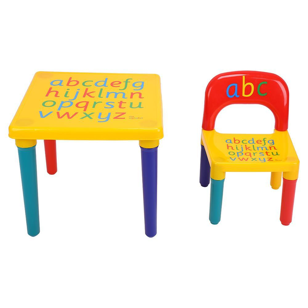 Incredible Plastic Play Toddler Kids Furniture Table Chair Set 2 Gmtry Best Dining Table And Chair Ideas Images Gmtryco
